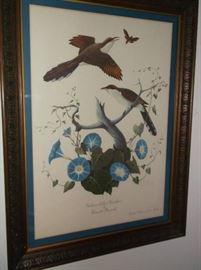 Claude Peacock print