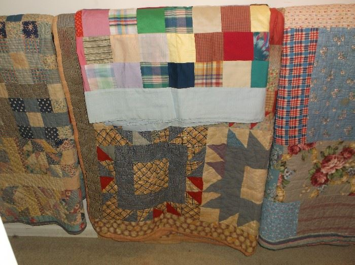 Handmade quilts and quilt top