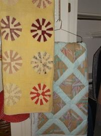 Two handmade quilts