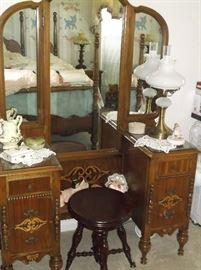1930's drop center dresser