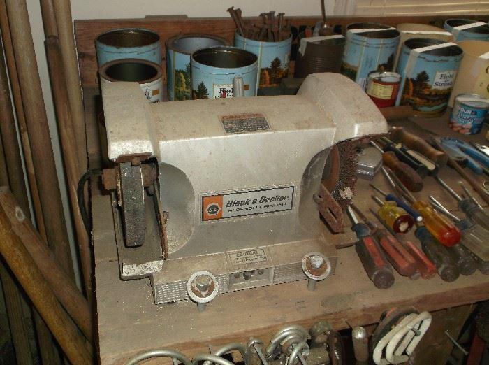 Black & Decker grinder