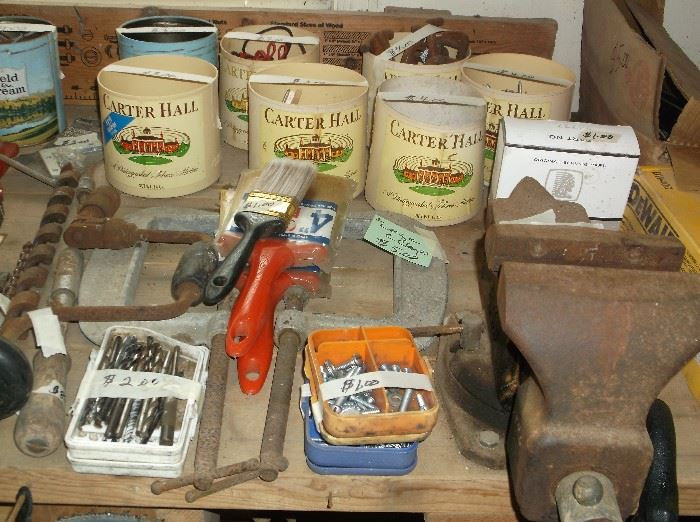 Tools and vise