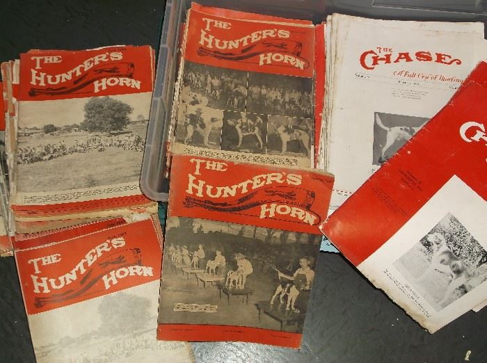 """1930's to 1940's """"The Hunter's Horn"""" and The Chase"""""""