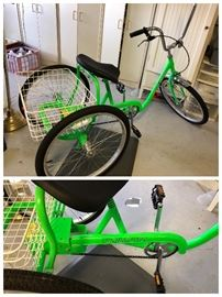 Desoto Classic Trailmaster Adult Trike Bicycle 3 wheel in Beautiful New Condition