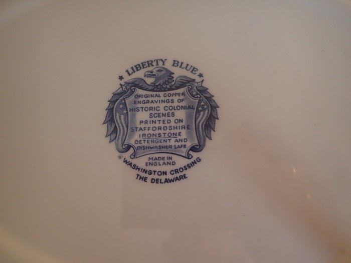 LIBERTY BLUE / WASHINGTON CROSSING THE DELWARE
