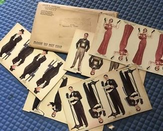 Radio Show Paper Dolls of Movie Stars