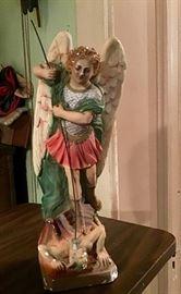 Unusual Religious Statue