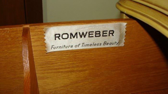 Romweber bedroom set