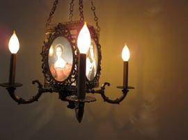 Ornate Hanging Victorian Candelabra