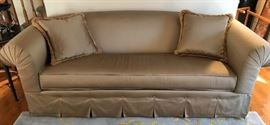 Custom Silk Couch