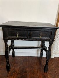 Antique desk or side table