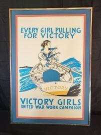 Victory Girls Framed Poster