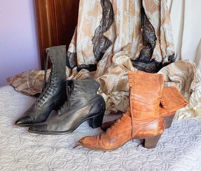 Antique Ladies Boots