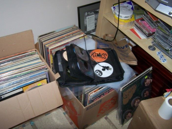 Living Room:  Classic Rock '60s-'70s Excellent Condition