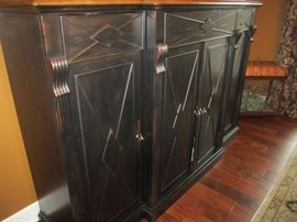 VERY NICE BUFFET FROM OOH LA LA  ALSO MATCHES THE PAIR OF CURIO CABINETS
