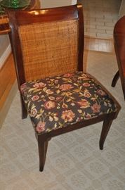 Amazing Sloan side chair with custom upholstery