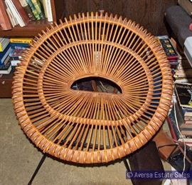 Janine Abraham Style Rattan Chairs (set of four)