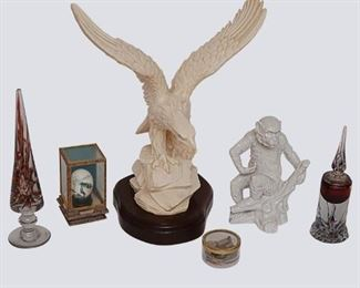 6. Group Lot of Decorative Items