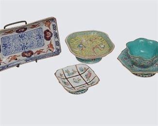 3. Lot of Five Pcs of Chinese Porcelain