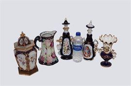 8. Lot Four Pieces, 19th C. English Porcelain