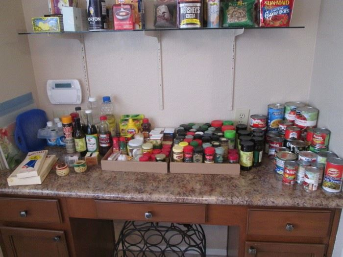 Spices & Pantry Items