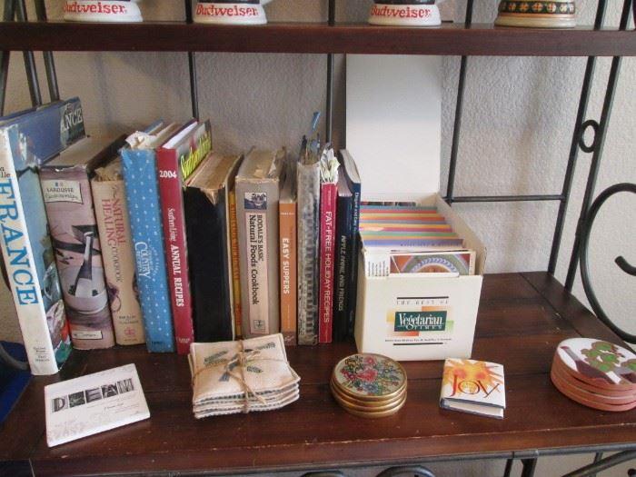 Cookbooks & Coasters