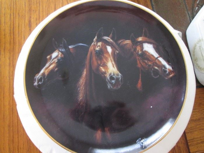 """""""Noble & Free"""" Collector Plate from the Danbury Mint, Ltd. Ed. 1993"""