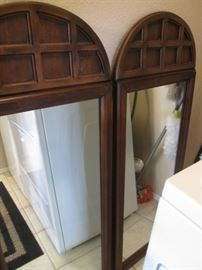 2-Matching Wall or Dresser Mount Mirrors