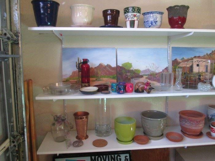 Pots & Paintings