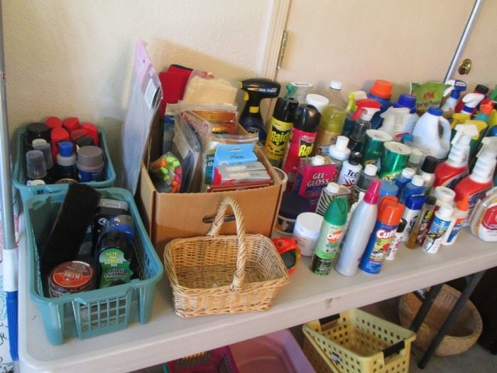Loads of Cleaning & Yard Supplies and Chemicals