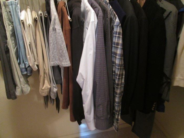 Some Men's Clothing