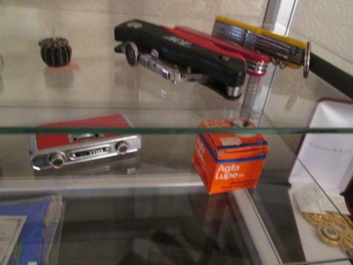 Pocket Knives & Binoculars