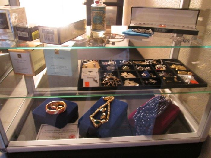 Our 2nd Showcase displays Jewelry & Skin Care Products
