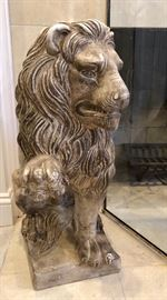 Fireplace Lion