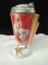 Marilyn Monroe beer stein