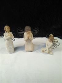 Willow Tree ornament and statues
