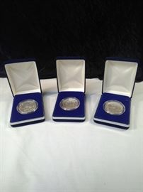 """Year of """""""" collector coins"""