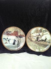 P Buckley Moss plates