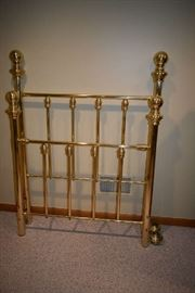 BRASS TWIN BED