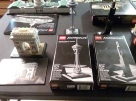 Space Needle and Willis Tower LEGO Architecture Sets