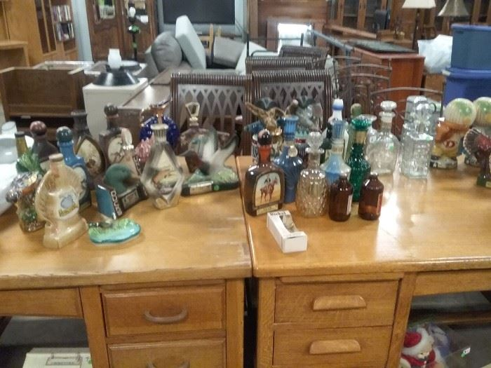 Lots of Decanters