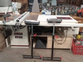 JET Table Saw with Router