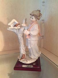 Statue with Bird $40