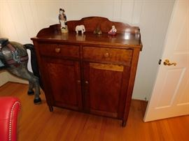 Antique Two Drawer Cabinet