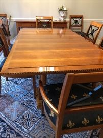 Councill Table/ 8 Chairs