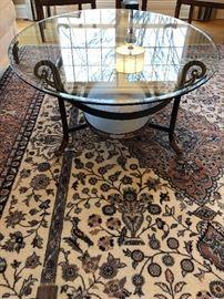 Glass Top Coffee Table -
