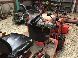 seat view 2012 Kubota BX 2660 tractor