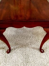 Two Matching Cherry Side tables...