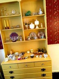 and A Hutch Top Dresser...