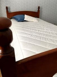 The Sweetest Four Post Twin Size Bed Ever!...